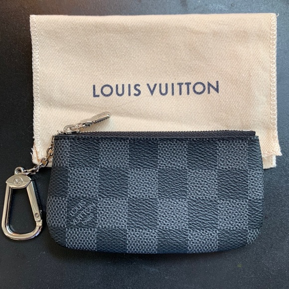 Louis Vuitton Key pouch Damier Graphite BNWT